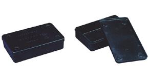 Антистатическая тара плоскодонная с крышкой 5106