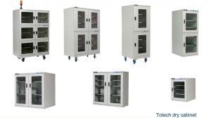 Шкафы сухого хранения Totech, SD Серия 02 (<2–50% RH)