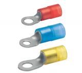 Кольцевые наконечники из листовой меди изолированные, 10-150 мм2