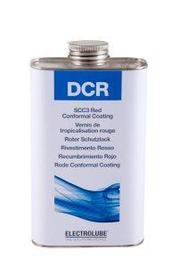 Красное защитное покрытие DCR01L